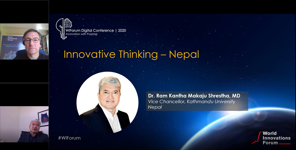 WIForum Digital Conference_Dr. Ram Shrestha_Innovation in Nepal